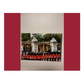 Buckingham Palace Changing of The Guard Postcard