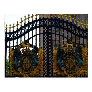 Buckingham Palace Gate Postcard