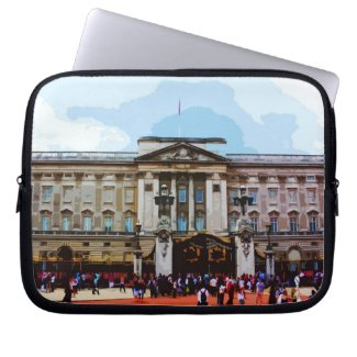 Buckingham Palace in London, UK Computer Sleeves