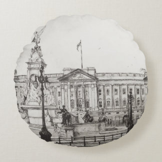 Buckingham Palace London.2006 Round Pillow