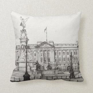 Buckingham Palace London.2006 Throw Pillow