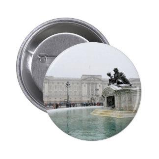 Buckingham Palace London Pinback Buttons