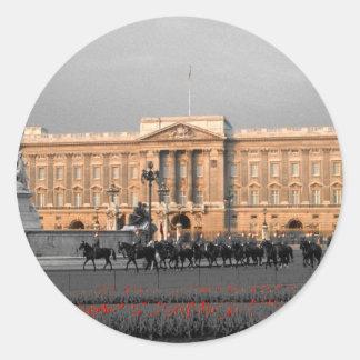 Buckingham Palace London Classic Round Sticker