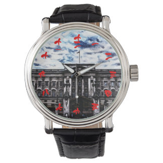 Buckingham Palace London, England Chinese numerals Wrist Watch