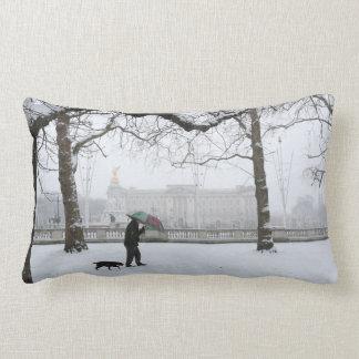 Buckingham Palace London England Lumbar Pillow