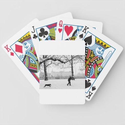 Buckingham Palace London England Poker Deck