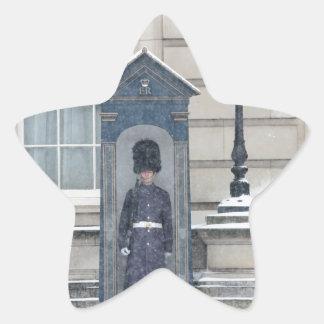 Buckingham Palace London England Star Sticker