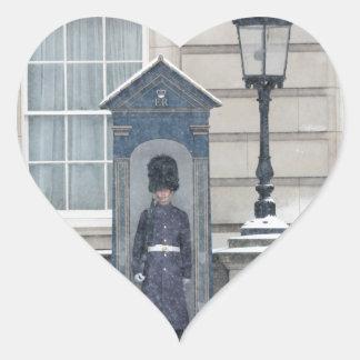Buckingham Palace London England Heart Stickers