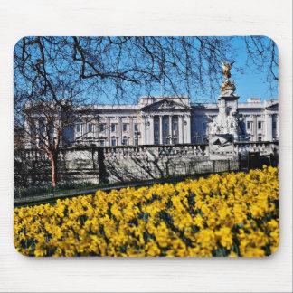 Buckingham Palace, London  flowers Mouse Pad