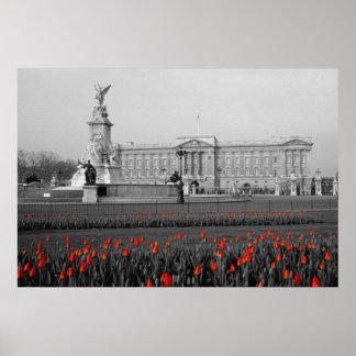 Buckingham Palace London Poster