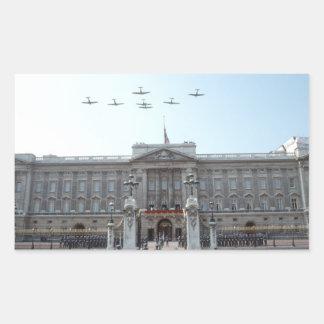 Buckingham Palace London Rectangle Stickers