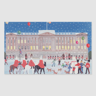 Buckingham Palace London Rectangular Sticker