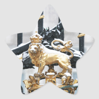 Buckingham Palace London Star Sticker