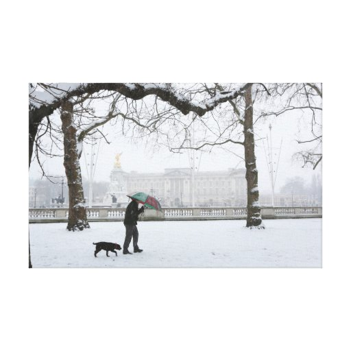Buckingham Palace London Stretched Canvas Prints