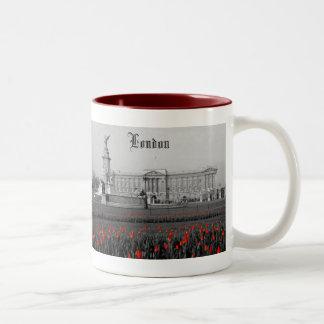 Buckingham Palace London Two-Tone Coffee Mug
