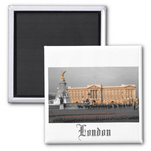 Buckingham Palace Londres Imán Cuadrado