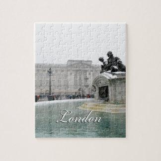 Buckingham Palace Londres Inglaterra Rompecabezas Con Fotos