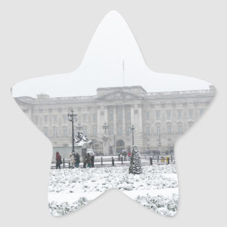 Buckingham Palace Londres Pegatina Forma De Estrella Personalizada