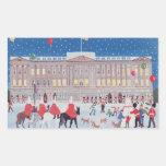 Buckingham Palace Londres Pegatina Rectangular