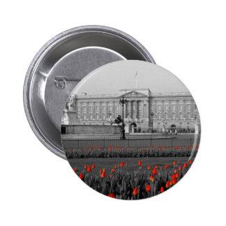Buckingham Palace Londres Pin Redondo De 2 Pulgadas