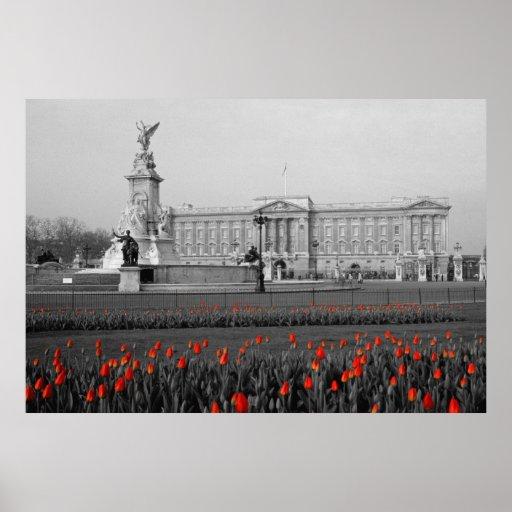 Buckingham Palace Londres Póster