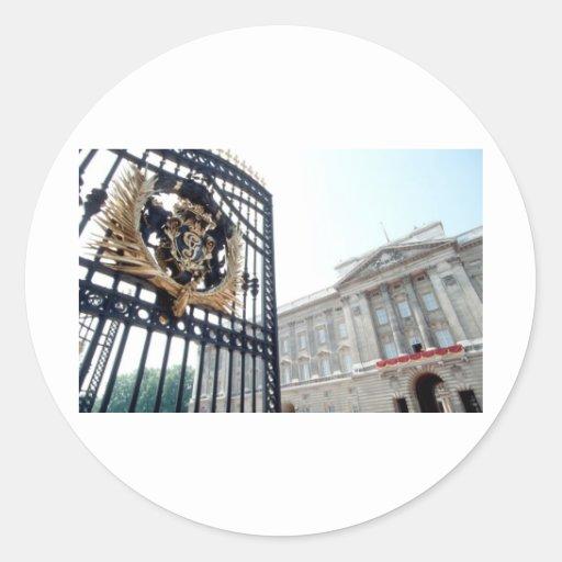 Buckingham Palace Pegatina Redonda
