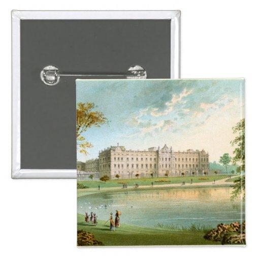 Buckingham Palace Pin Cuadrada 5 Cm