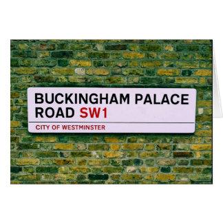 Buckingham Palace Road  -  London Card
