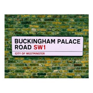 Buckingham Palace Road - London Postcard