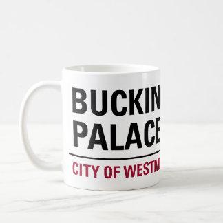 Buckingham Palace Sign Coffee Mug