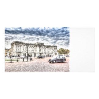 Buckingham Palace Snow Card