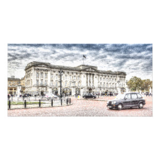 Buckingham Palace Snow Card