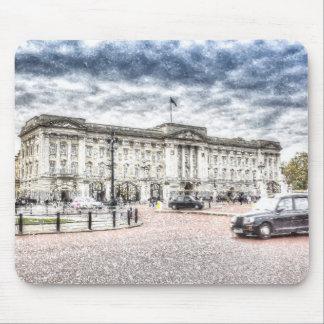 Buckingham Palace Snow Mouse Pad
