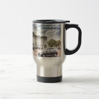 Buckingham Palace Snow Travel Mug