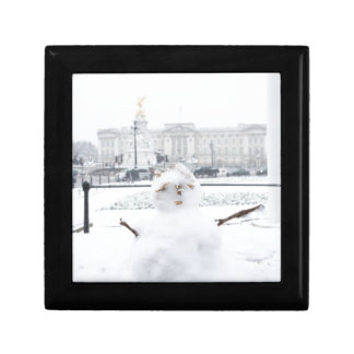 Buckingham Palace snowman London Gift Box