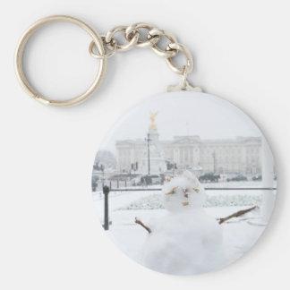 Buckingham Palace snowman London Keychains