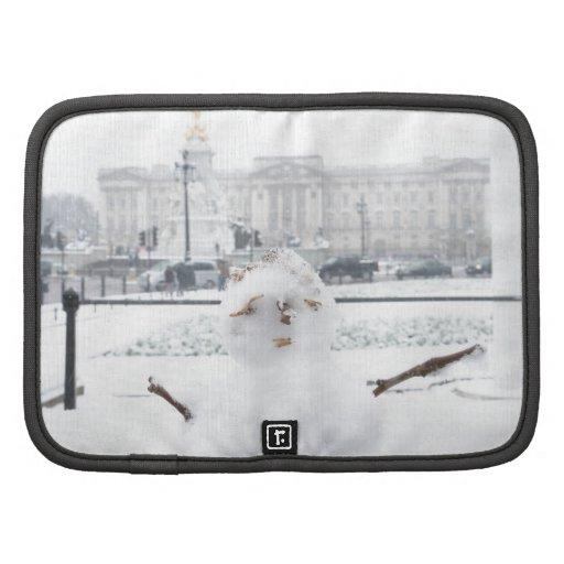 Buckingham Palace snowman London Planners