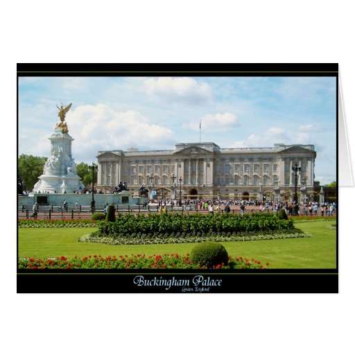 Buckingham Palace Tarjeta De Felicitación