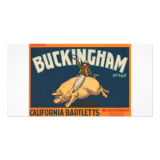 Buckingham Photo Card Template
