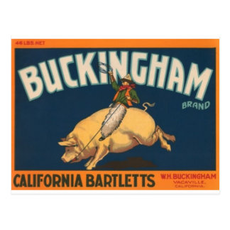 Buckingham Postcard