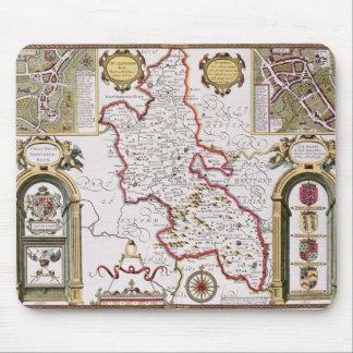 Buckinghamshire, engraved by Jodocus Mousepad