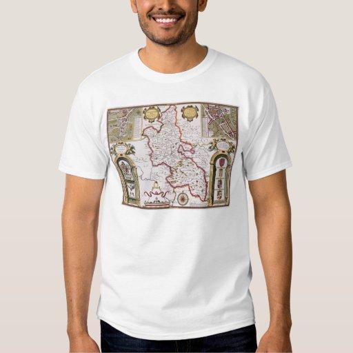 Buckinghamshire, engraved by Jodocus T-Shirt