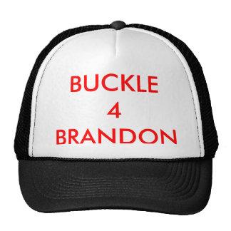 BUCKLE 4 BRANDON -HAT