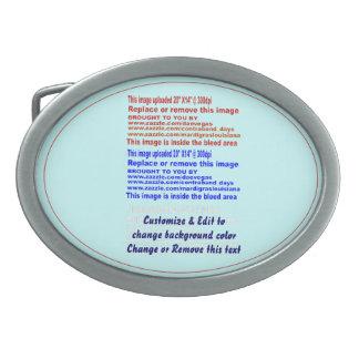 "Buckle Belt Oval (ONLY) Size: 3.75"" x 2.75"". Pewte Oval Belt Buckle"