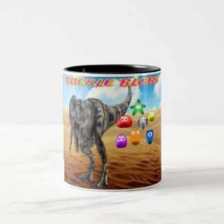 Buckle Blobs 1 Two-Tone Coffee Mug