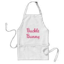 Buckle Bunny Adult Apron