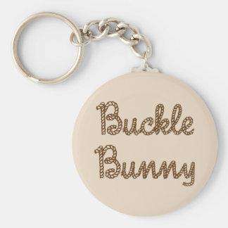 Buckle Bunny Keychain