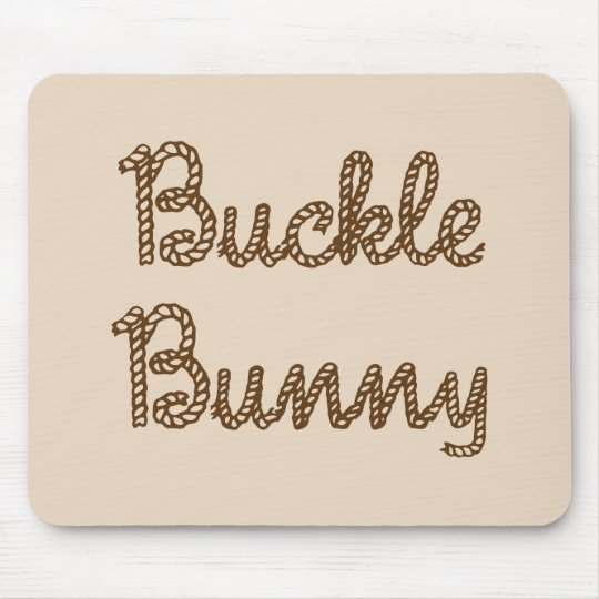 Buckle Bunny ~ Rodeo Mouse Pad