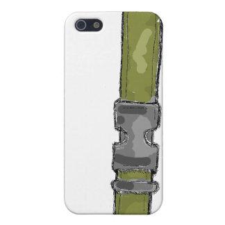 Buckle design - Olive Case For iPhone SE/5/5s