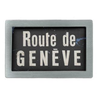 "Buckle of belt ""Road of Geneva"" by REN Belt Buckle"